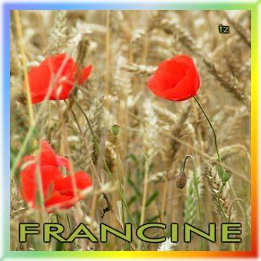 Prénom Francine