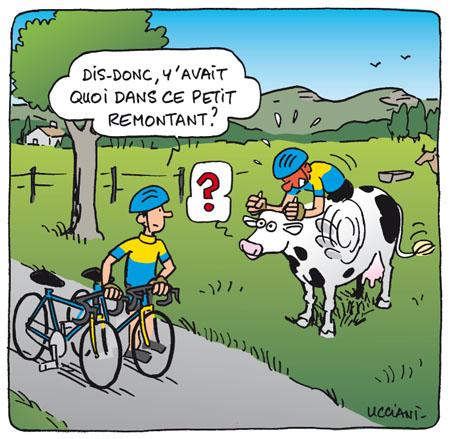 Humour cycliste - Dessin cycliste humoristique ...