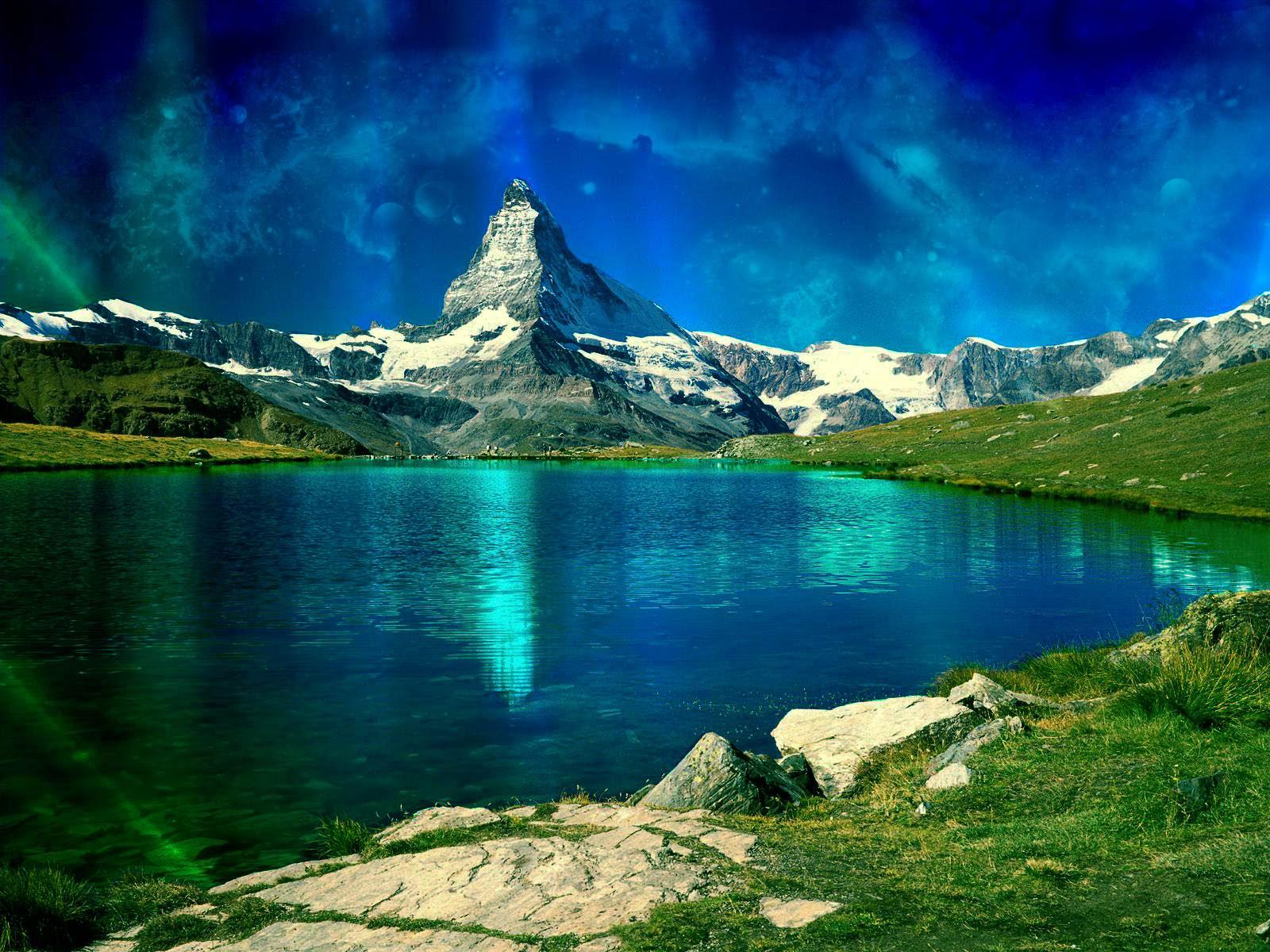 Le cervin , valais suisse